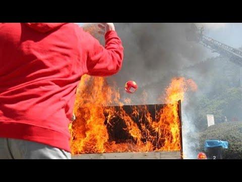 Yangına Hızlı Müdahale İçin Tasarlanmış Yangın Topu