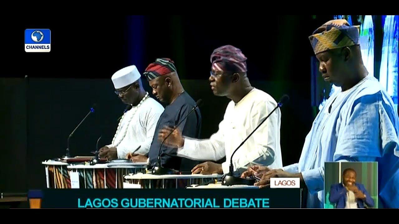 Badamosi, Sanwo-Olu, Agbaje, Salis Slug It Out At Lagos Governorship Debate