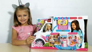 БАРБИ СКОРАЯ ПОМОЩЬ! Распаковка и Обзор от Ярославы! Barbie Doll Ambulance