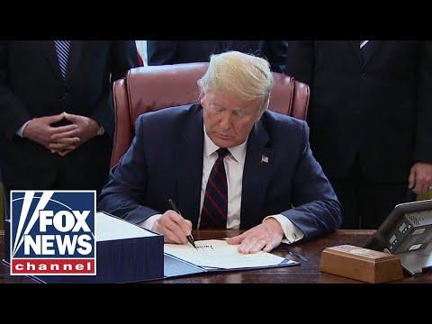 Trump Signs $2 Trillion Coronavirus Stimulus Bill