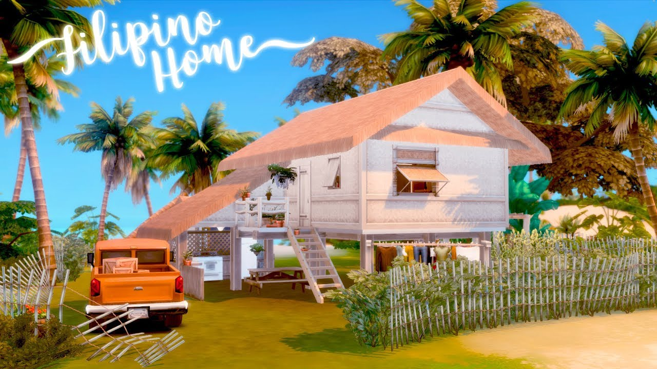This Bahay Kubo In The Sims 4 Will Make You Nostalgic For Your Childhood Summers In The Province