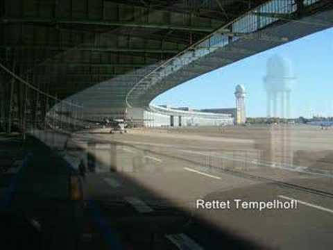 Approach Airport Berlin Tempelhof Eddi Youtube
