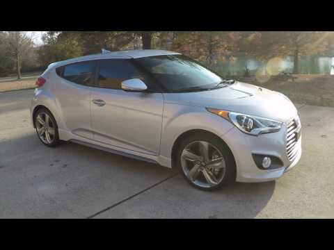 HD VIDEO 2014 HYUNDAI VELOSTER TURBO IRONMAN SILVER FOR SALE INFO WWW SUNSETMOTORS COM