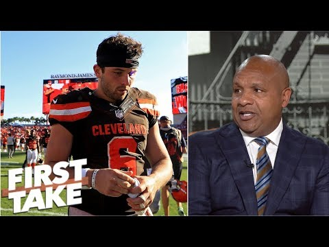 Hue Jackson addresses reports of internal discord with Browns | First Take