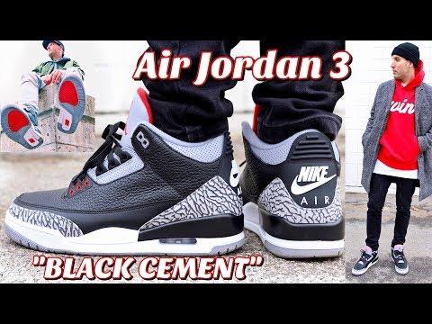 retro 3 jordans cement