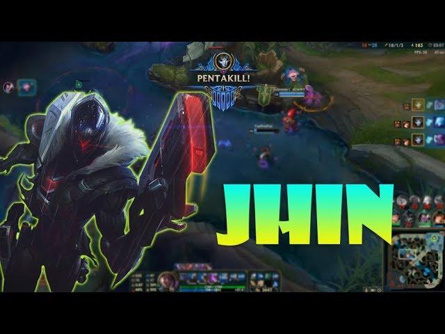 Jhin montage 32 - Jhin Compilation