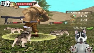 Dog Sim Online -Siberian Husky- Android / iOS - Gameplay part 12