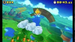 Sonic Lost World (3DS) - Super Sonic (Windy Hill)