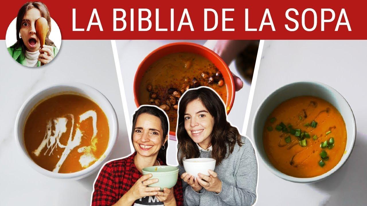 SOPA DE CALABAZA: 3 OPCIONES ft. DALMA MARADONA