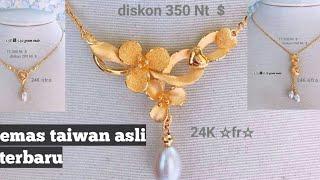 emas taiwan asli paling keren kalung