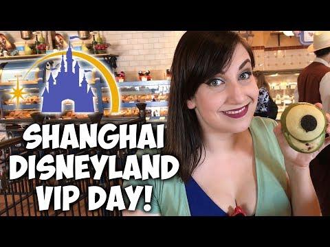 Shanghai Disneyland VIP Day!