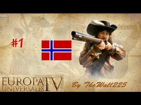 Europa Universalis IV Gameplay Norvegia HD ITA #1 - Nuova Avventura