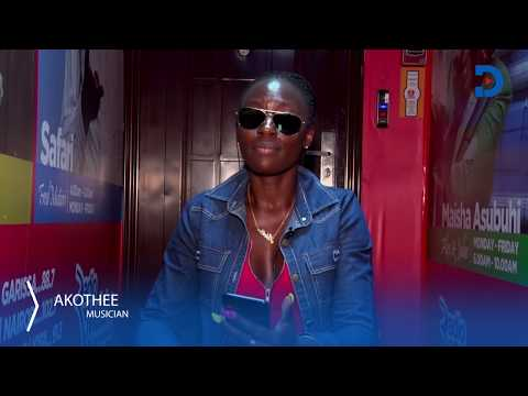Akothee explains why she is always angry, as she answers random and crazy questions   ASK ME