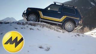 Allradler im Schnee Teil 1: Lada Niva