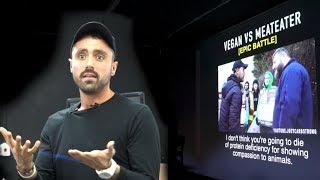 Vegan Vs Meateater- Epic Debate [LIVE AUDIENCE REACTION]