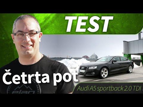 2010 Audi A5 Sportback 20 Tdi Test Youtube