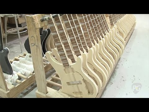 Rickenbacker Factory Tour: Model 330 Guitar & Model Bass Construction