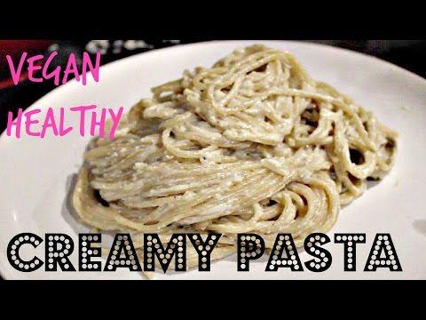 CREAMY PASTA (VEGAN CARBONARA RECIPE) | Cheap Lazy Vegan