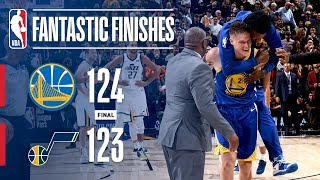 The Warriors and Jazz Go Down to the Final Seconds | October 19, 2018