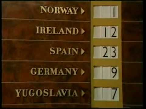 Eurovision 1968 Voting Part 2/2