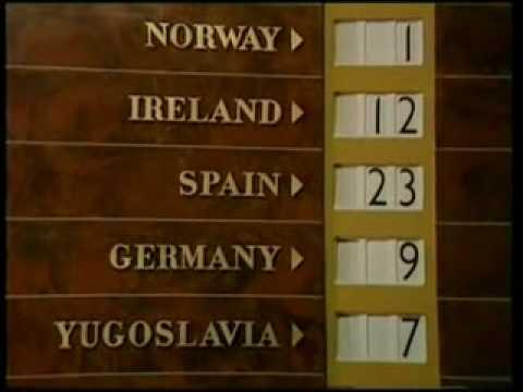 Eurovision 1968 Voting Part 2/2