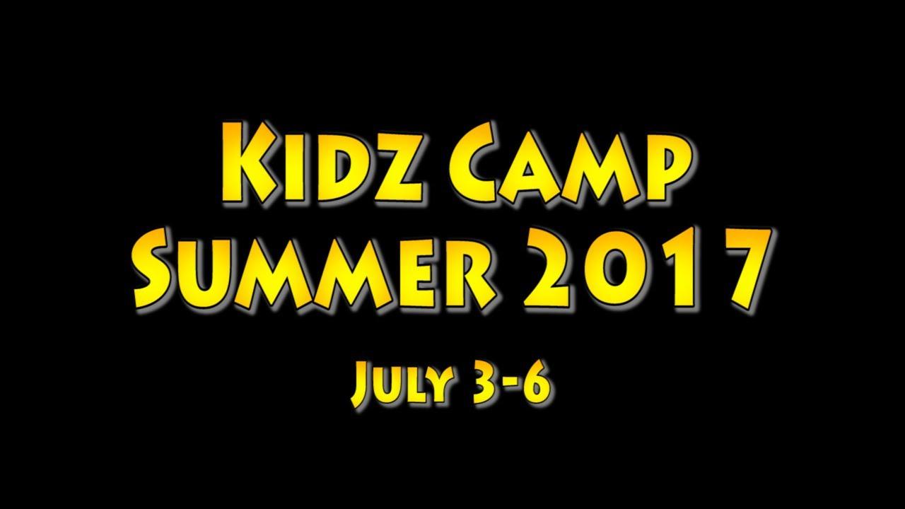 2017 Kidz Camp