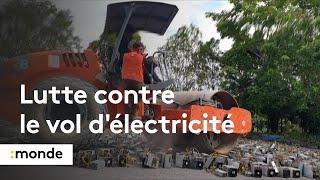 En Malaisie, la police utilise un moyen spectaculaire pour lutter contre le vol d'électricité