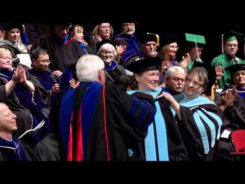 University of North Dakota Winter Graduate Degree Ceremony