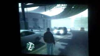 GTA IV on a projector