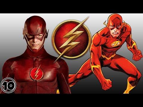 Top 10 Flash Surprising Facts - Barry Allen