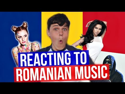 REACTING TO ROMANIAN MUSIC!!