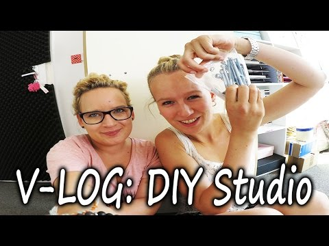 V-Log NEUES aus dem DIY Studio | Eva & Kathi bauen den neuen IKEA Tisch auf | Überblick