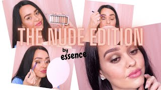 3 Different Eye-makeup Looks  with The Nude Edition - ESSENCE COSMETICS
