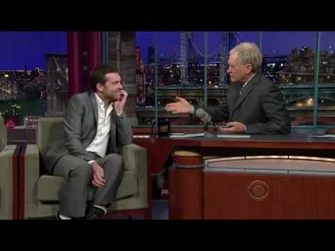 YouTube Sam Worthington on Letterman April 1'st
