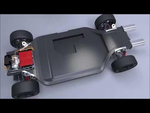 Williams FW-EVX electric car chassis platform
