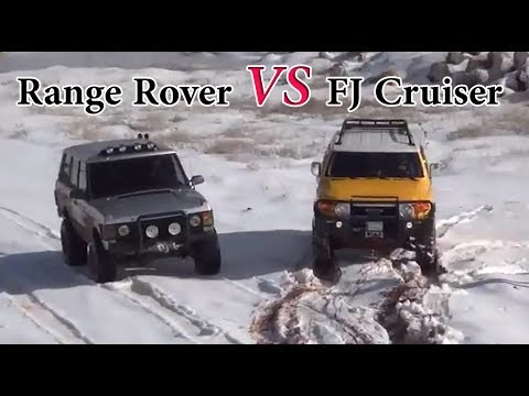 Range Rover VS FJ Cruiser - Snow & Mud