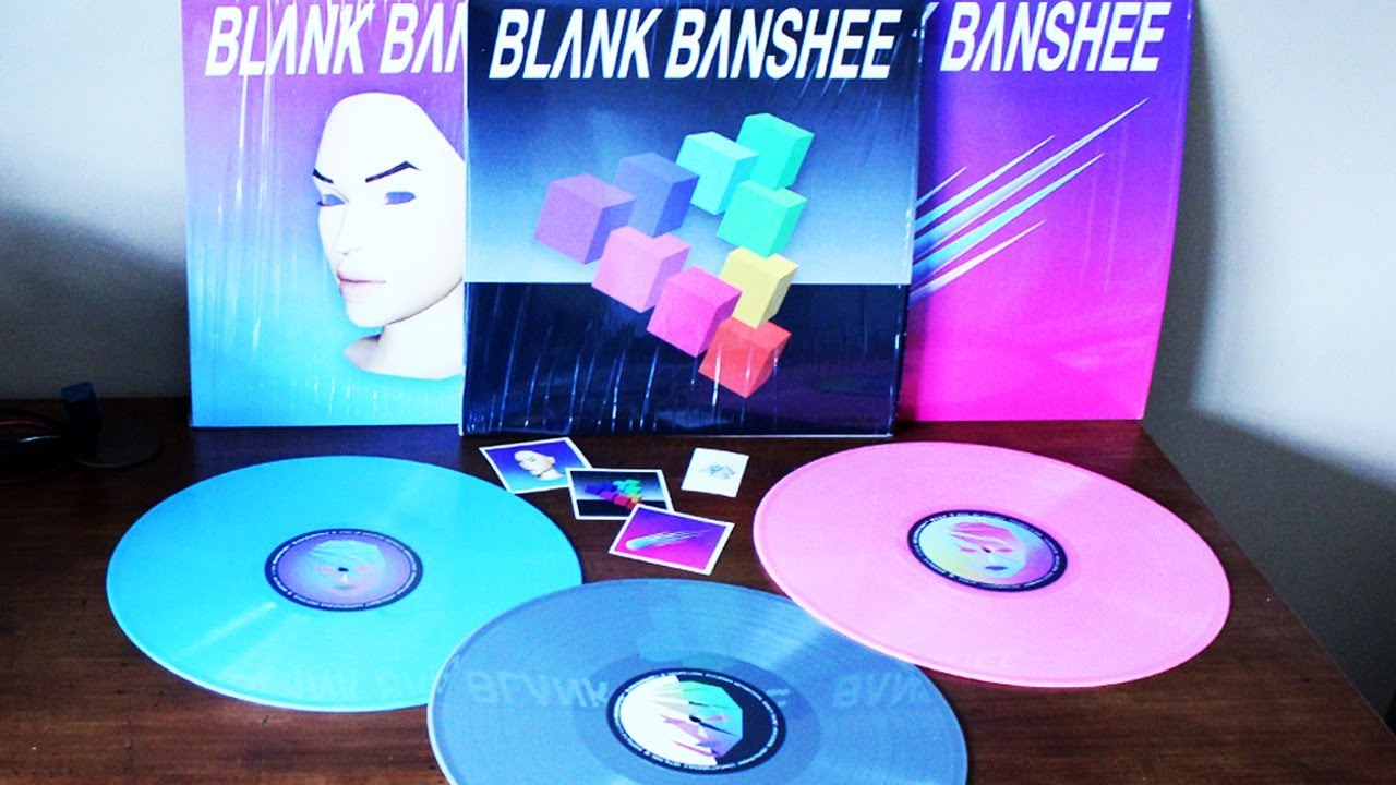 Blank Banshee Vinyl Records Vaporwave Vaportrap Youtube