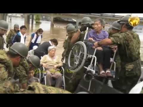 Japan floods: millions are ordered to evacuate homes