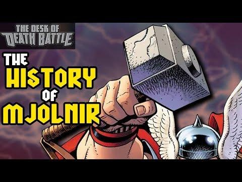The History of Mjolnir   Desk of DEATH BATTLE