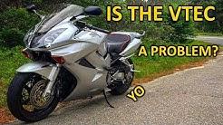 Why you shouldn't do valves on a VFR800 VTEC