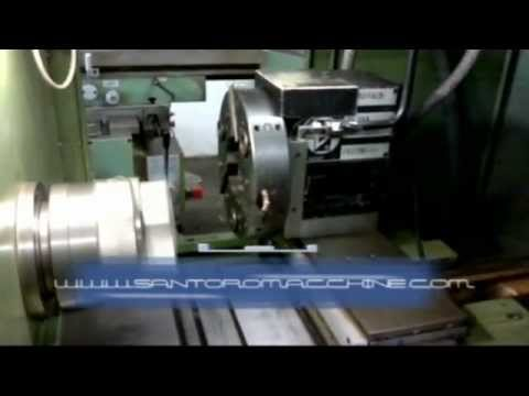 Tornio cnc avm angelini mas 165 youtube for Youtube tornio