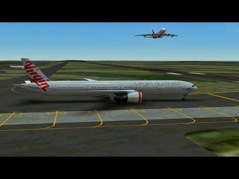 Infinite Flight Virgin Australia Airlines Boeing B777 - WSAP - WMKK