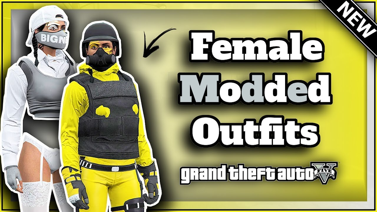 GTA5 I *NEW* 2 MUST HAVE Female MODDED Outfits! (VERY EASY) Transfer  Glitch! (PATCH 1 48)