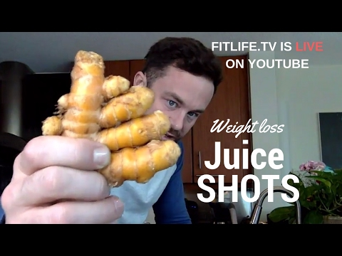 Weight Loss Juice Shot - Have one with me LIVE!!!