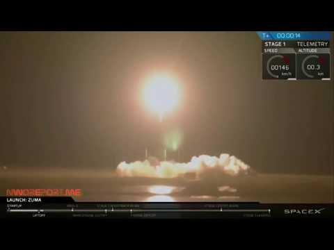 SpaceX apparently lost the classified Zuma Government Satellite it Failed to Reach Orbit