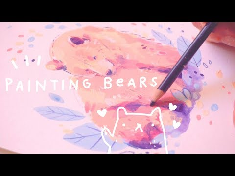 Painting Grizzly Bears