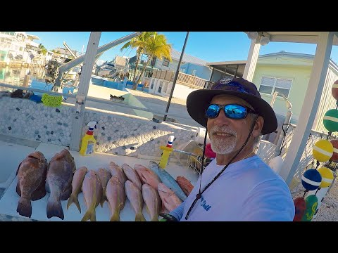 Fishing in the Florida Keys with Captain Wicho – Drifting for Flag Yellowtails