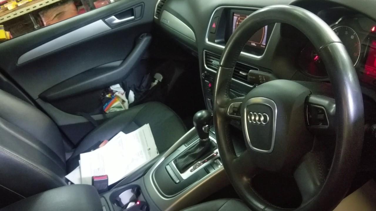 Audi Q5 2011 2 Litre Transmission Failure Overheat Failure