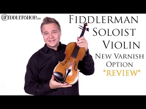 Fiddlerman Soloist Violin with Brown / Yellow Varnish