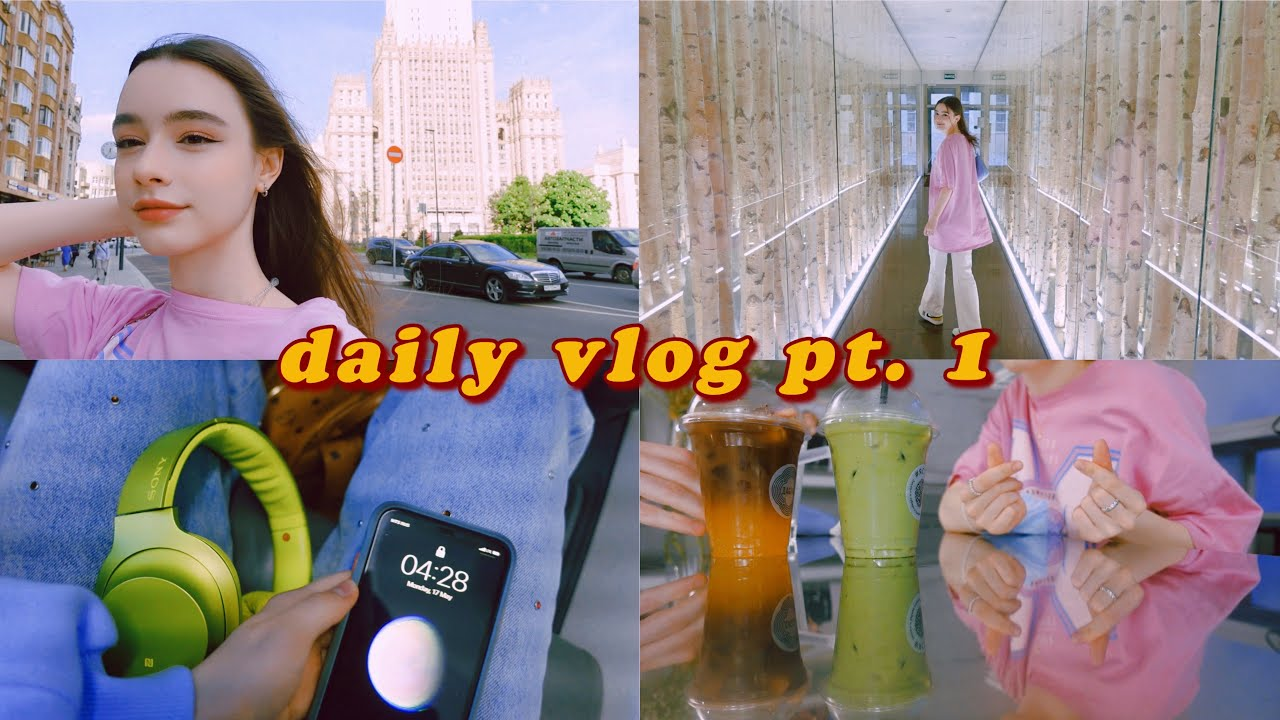 vlog ❤ I'm in Moscow (*≧ω≦*) having fun, chilling w/ my friends ✿